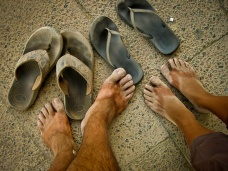 The Petra Aftermath: Our Filthy Feet
